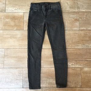 Lucky Brand 🎱 Washed Black Brooke Legging Jean